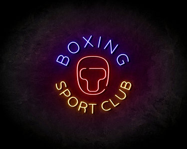 Boxing Sport Club neon sign - LED neonsign