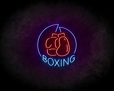 Boxing neon sign - LED neonsign