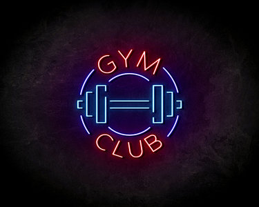 Gym Club neon sign - LED neonsign