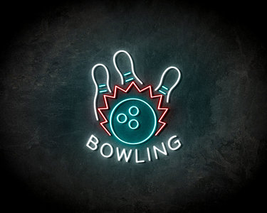Bowling neon sign - LED neonsign