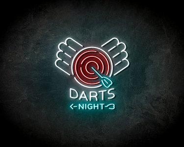 Dart nights neon sign - LED neonsign