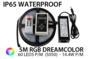 5M RGB Dream 5050 LED strip 30 LEDs p/m - IP65 - complete set_